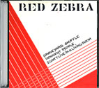 Picture of Red Zebra sleeve for the song Can't Live In A Living Room