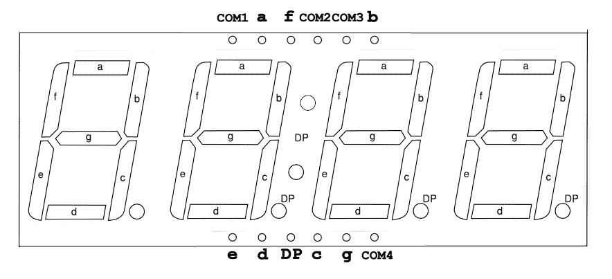 7s4dca12pin-pinout  Seven Segment Display Datasheet on